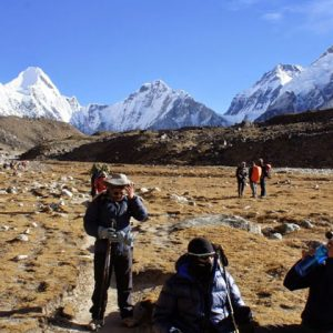Hike to Everest Base camp with Adventure Great Himalaya Company