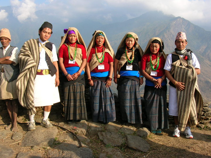 Gurung People Nepal- Adventuregreathimalaya