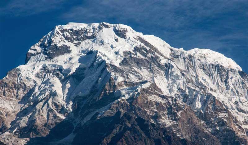 Mt Annapurna Himalaya Nepal