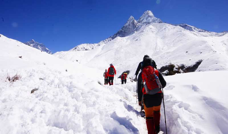 Everest Three High pass Trek
