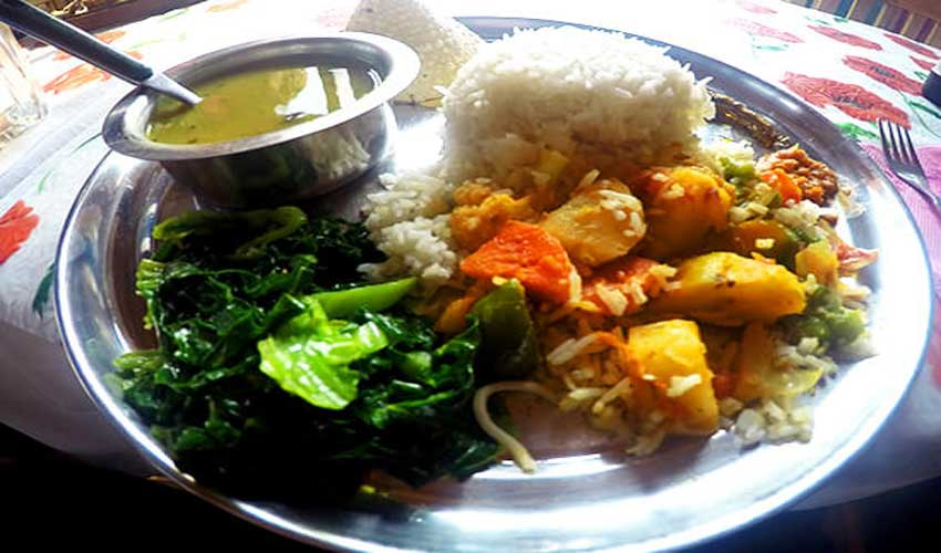 Food in Annapurna Circuit Trek