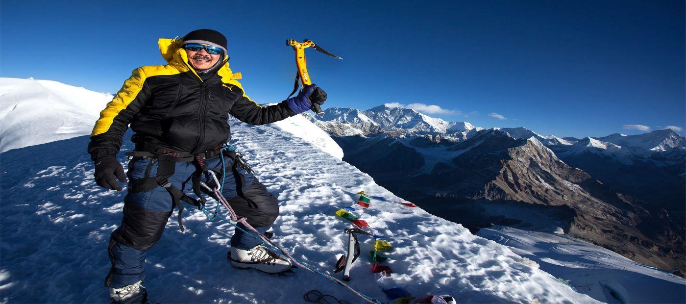 One of the most alluring trekking peaks in Nepal