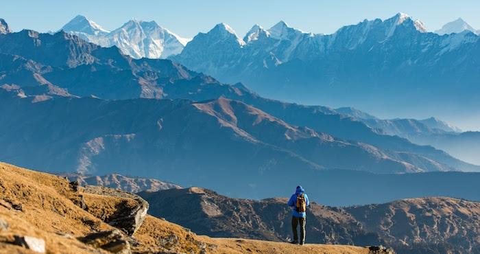 Pikey Peak trekking Route