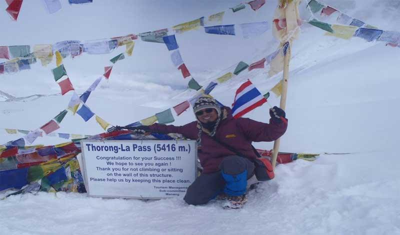 Thornong La Pass- Annapurna Circuit Trek