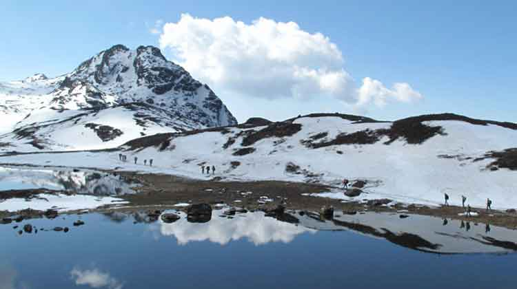 Trek to Panch Pokhari