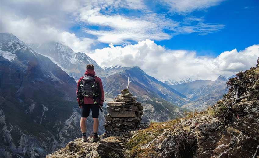 Trekking in Nepal December