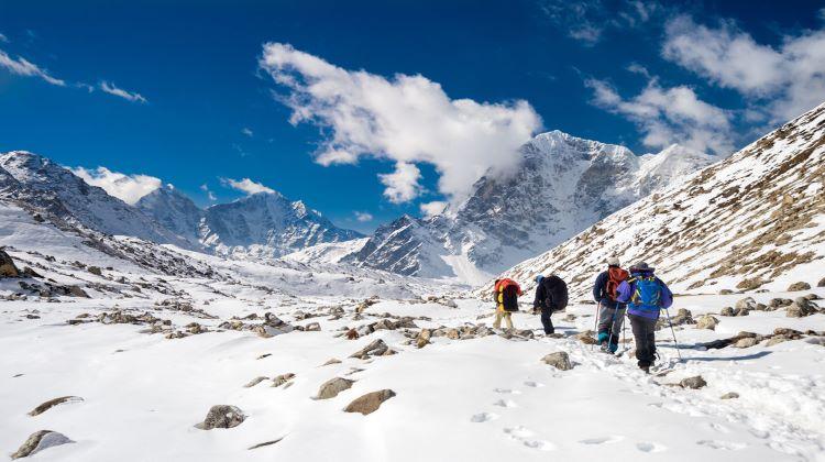 Trekking in Nepal winter season