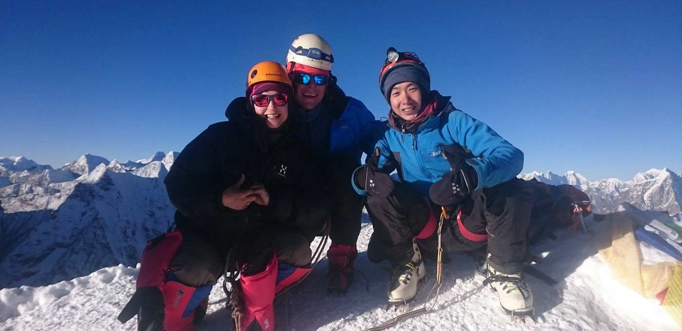Island peak Climbing (6173m)