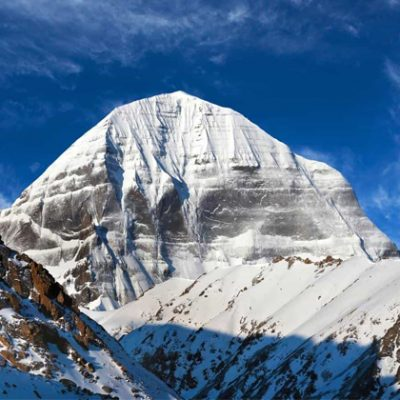 Mount Kailash and Manasarovar
