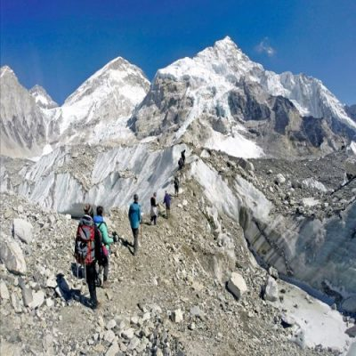 Everest three pass with Island peak Climb
