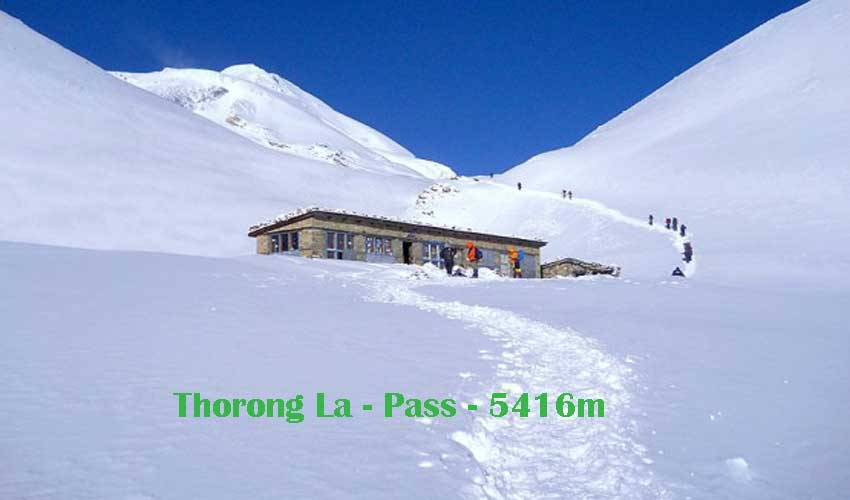 Thorong La pass- Annapurna trek
