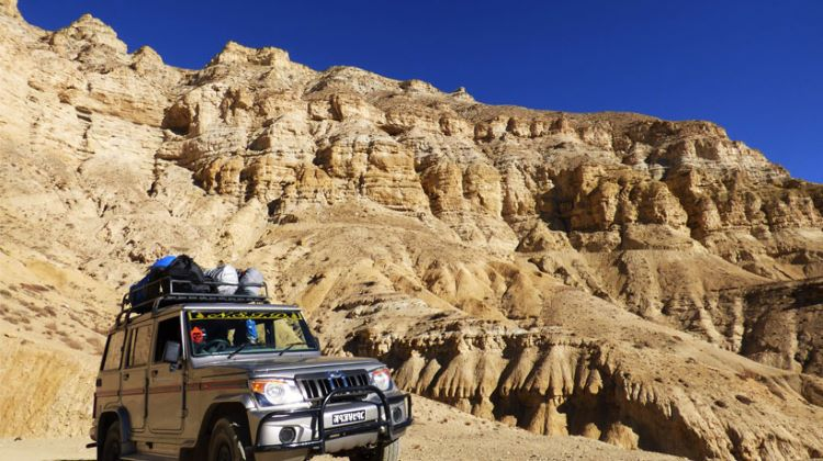 upper Mustang Jeep Tour - Adventure Great Himalaya